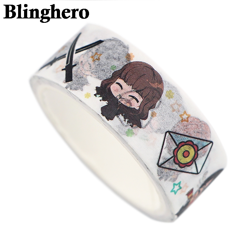 CA767 Wizard Student Masking Washi Tape DIY Decoration Sticker Scrapbooking Adhesive Tape School Office Supply Stationery Gift