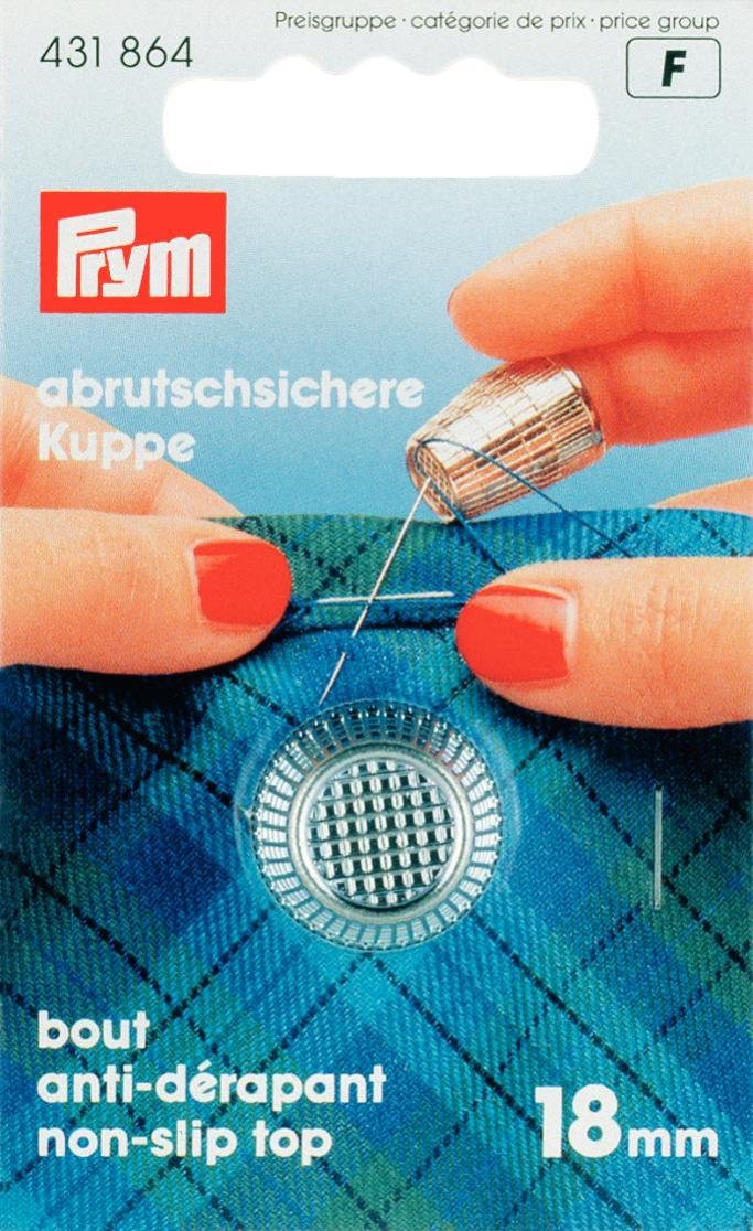Prym 15mm Antideslizante Top Metal Dedal