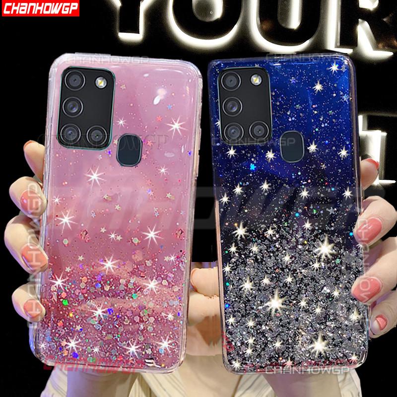 Color 1 E-Lush Funda Galaxy A21s Caso Ultra Delgado Flexible Gel TPU Goma Case Cover Anti-Ara/ñazos Protector 3 x Funda para Samsung Galaxy A21s Carcasa Suave Silicona