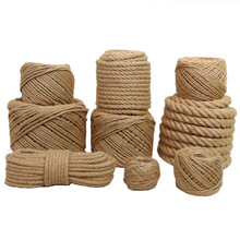 Hemp-Rope Corde Jute Natural Jute-Twine-Ficelle Hand-Woven Fence Photo-Wall Et Diy Retro