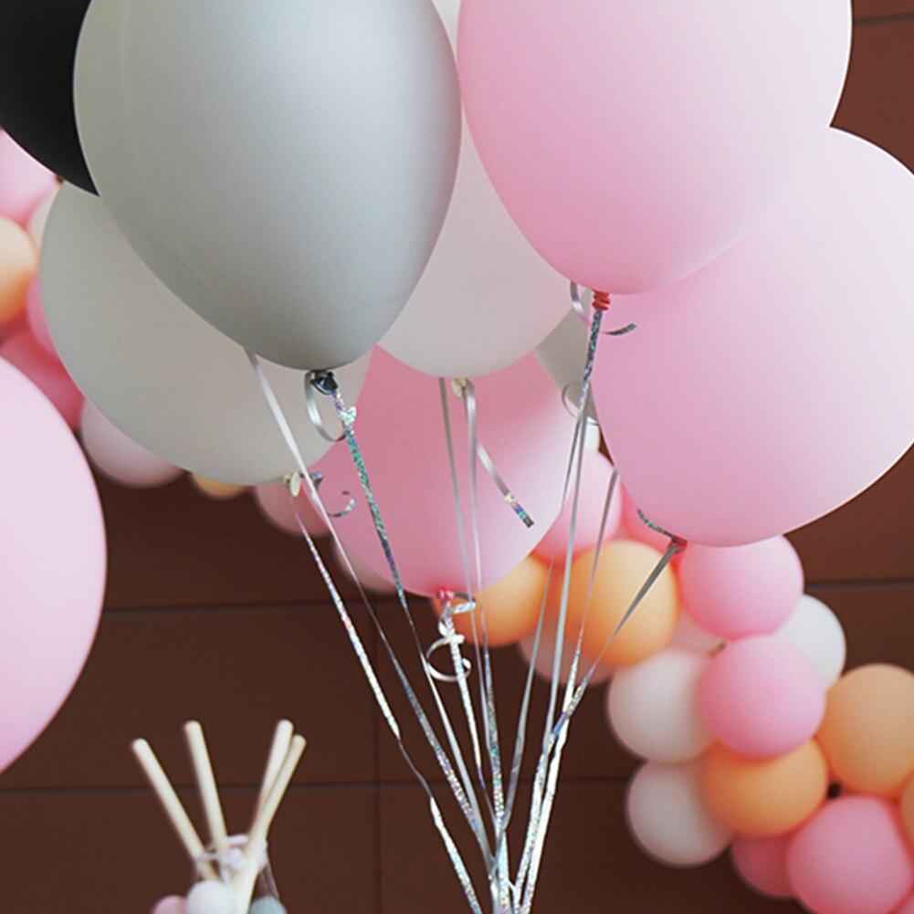 11 Yard Curling Ribbon Roll Crimps Gift Balloon Ribbons Party Birthday Decor A6