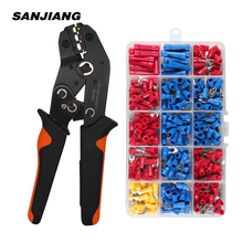 Crimper-Pliers Assortment-Kit Cable Hand-Crimping-Tool 280pcs SN-02C Mini with Lugs