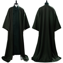 Cosplay Costume Lord Voldemort Cloak Long-Uniform Halloween Adult Men