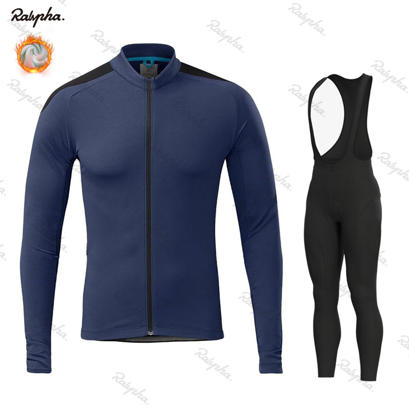 Cycling Clothing Apparel Jersey-Set Bike-Uniform Fleece Rapha Winter Mtb Warm Riding title=