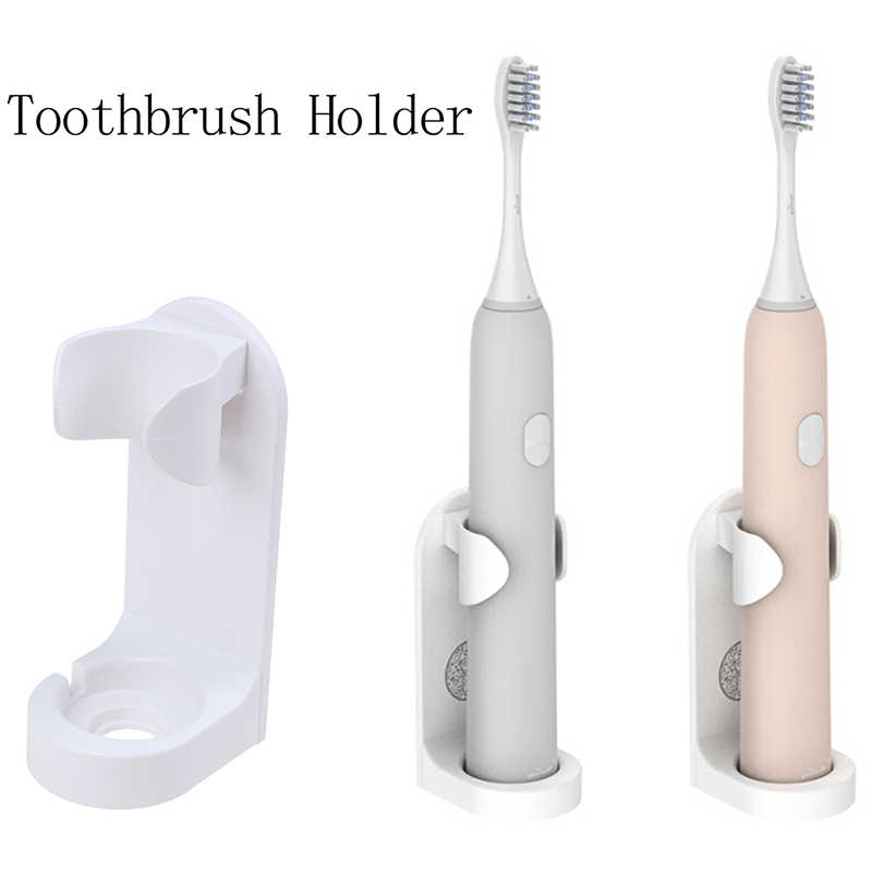 1PC Fashion Creative Traceless Stand Rack Toothbrush Organizer Electric Toothbrush Wall-Mounted Holder Space Saving