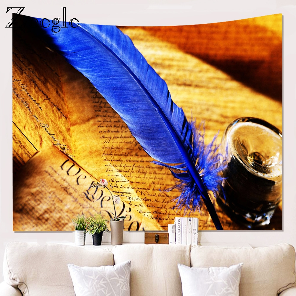 Zeegle Creative Tapestry Wall Hanging Psychedelic Decorative Wall Tapestries Art Wall Carpet Office Decor Carpet Beach Towel
