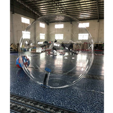 Cheap Human Sized Hamster Transparent Giant Plastic Inflatable Water Walking Ball For Rental(China)
