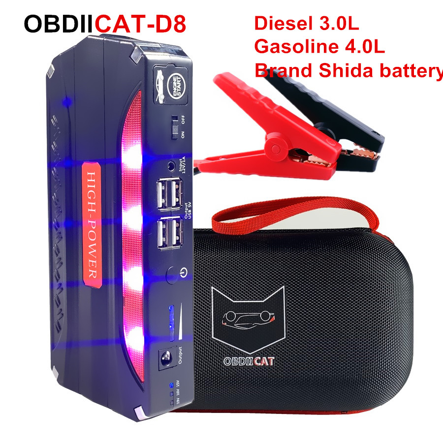 Starter-Booster Car-Battery Power-Bank Multi-Function Jump Car Emergency Mini Portable title=
