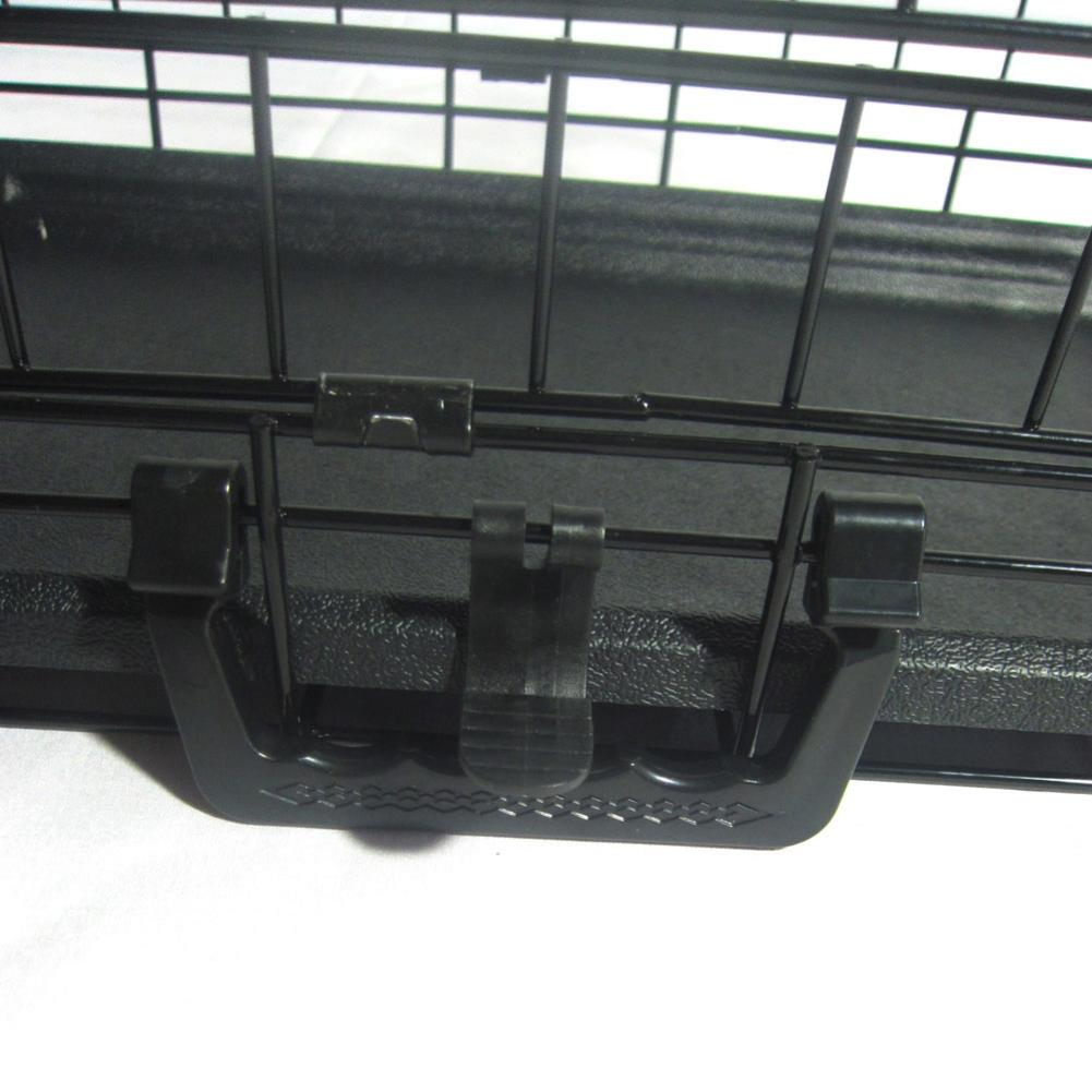 Transportation - 20inch Black Steel Dog Crate Pet Kennel Wire Metal Cage