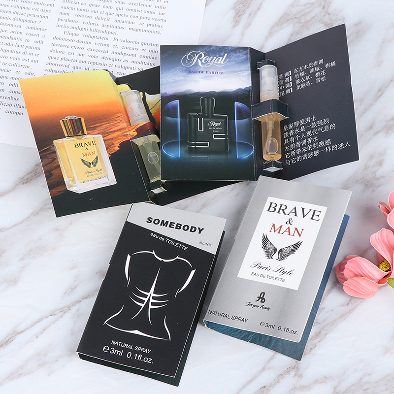 1pc 3ML Pheromone Perfume Aphrodisiac Man Orgasm Body Spray Flirt Perfume Attract Women Perfume For Men