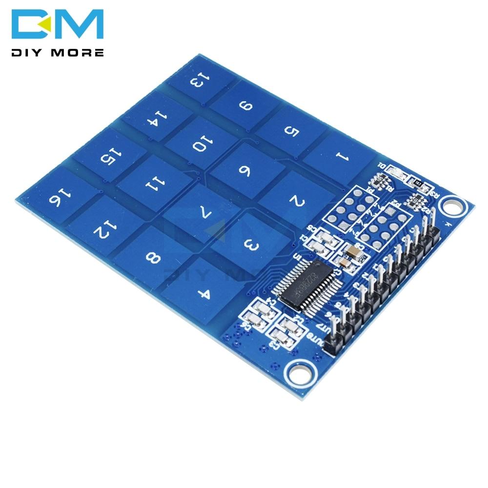 Arduino TTP229 16 Channel Digital Capacitive Switch Touch Sensor Module Best