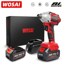 WOSAI MT Series 300Nm Brushless Screwdriver Electric Drill Cordless Screwdriver 20V Impact Driver Lithium-Ion Battery Power Tool