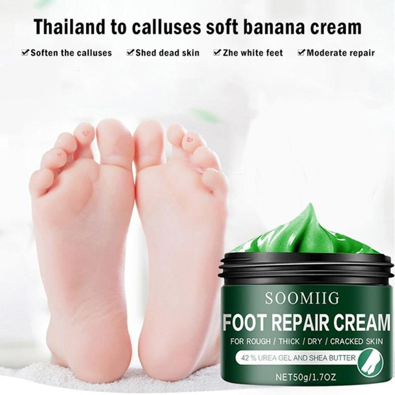 Intensive Foot Repair, Skin Healing Ointment for Cracked Heels and Dry Feet