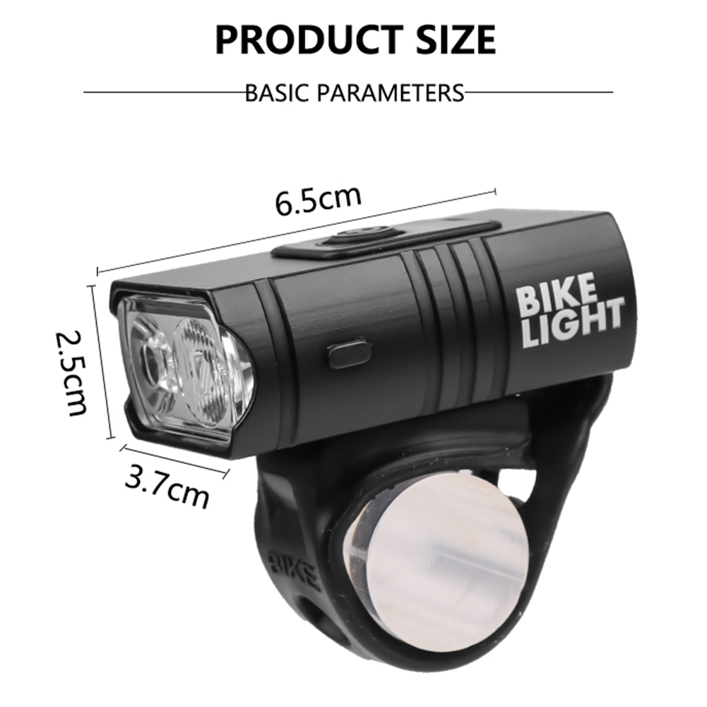 Light - T6 LED Bicycle Light 10W 6 Modes USB Rechargeable Power Display MTB Mountain Road Bike Front Lamp Cycling Equipment Flashlight