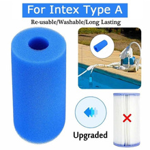 Sponge SWIMMING-POOL-FOAM-FILTER Intex Piscina Ceaning-Tools for Washable