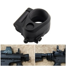 Tactical AR Black Folding Stock Adapter Fit M16 M4 SR25 Series GBB(AEG) For Airsoft Paintball Shooting Hunting Accessories