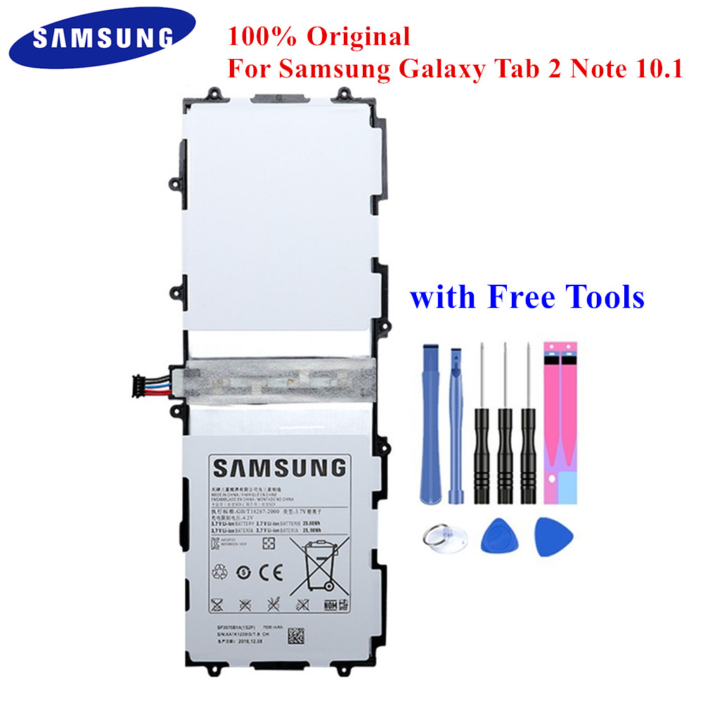 NEW SP3676B1A Battery For Samsung Galaxy Note 10.1 GT-N8000 GT-N8010 N8013 P7500