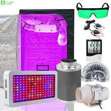 Grow-Light Complete-Kit CARBON-FILTER Plant Tent Hydroponic-Growing-System Led Tent-Room