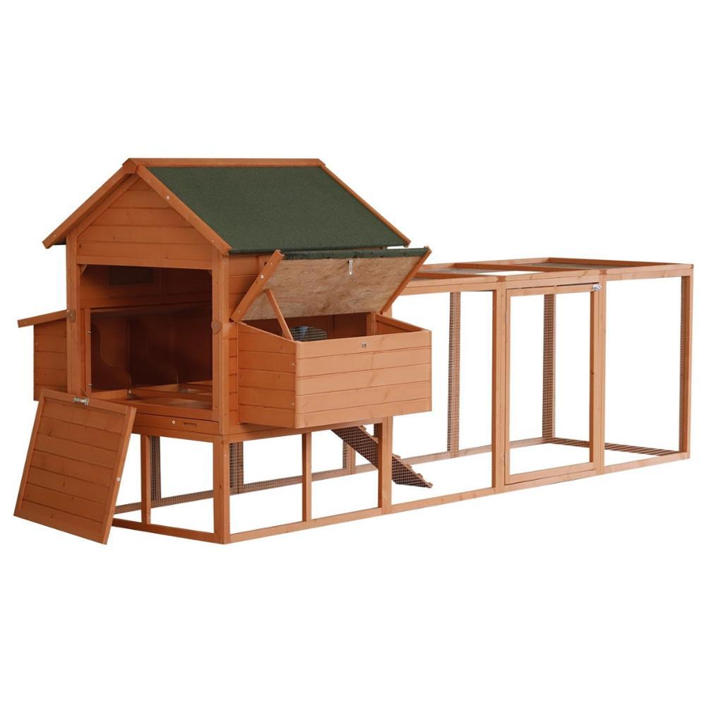Miniature Dollhouse FAIRY GARDEN Furniture ~ Rustic Wood Chicken Coop with Hen