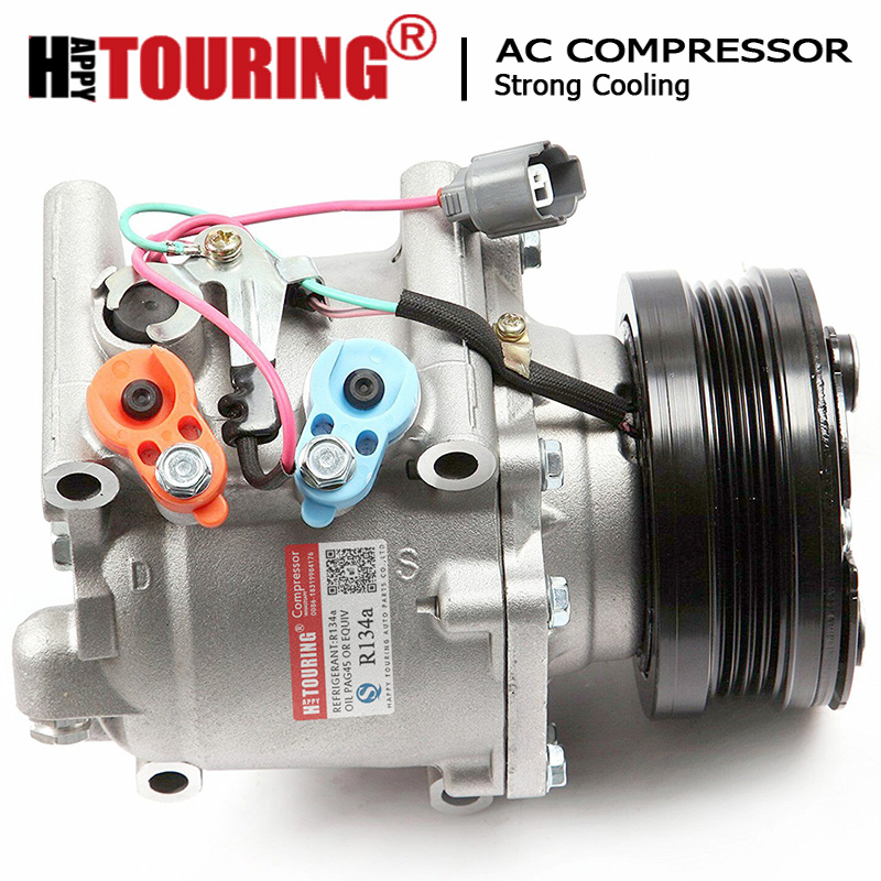 New AC Compressor and Clutch CO 10541AC for 2001 Acura EL Honda Civic 1.7L