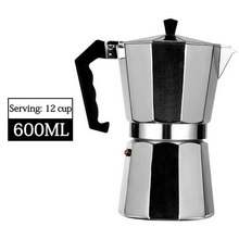 Makers Pot-Machine Stove-Top Cafetera Expresso Coffee Moka Induction Geyser 304-Stainless-Steel
