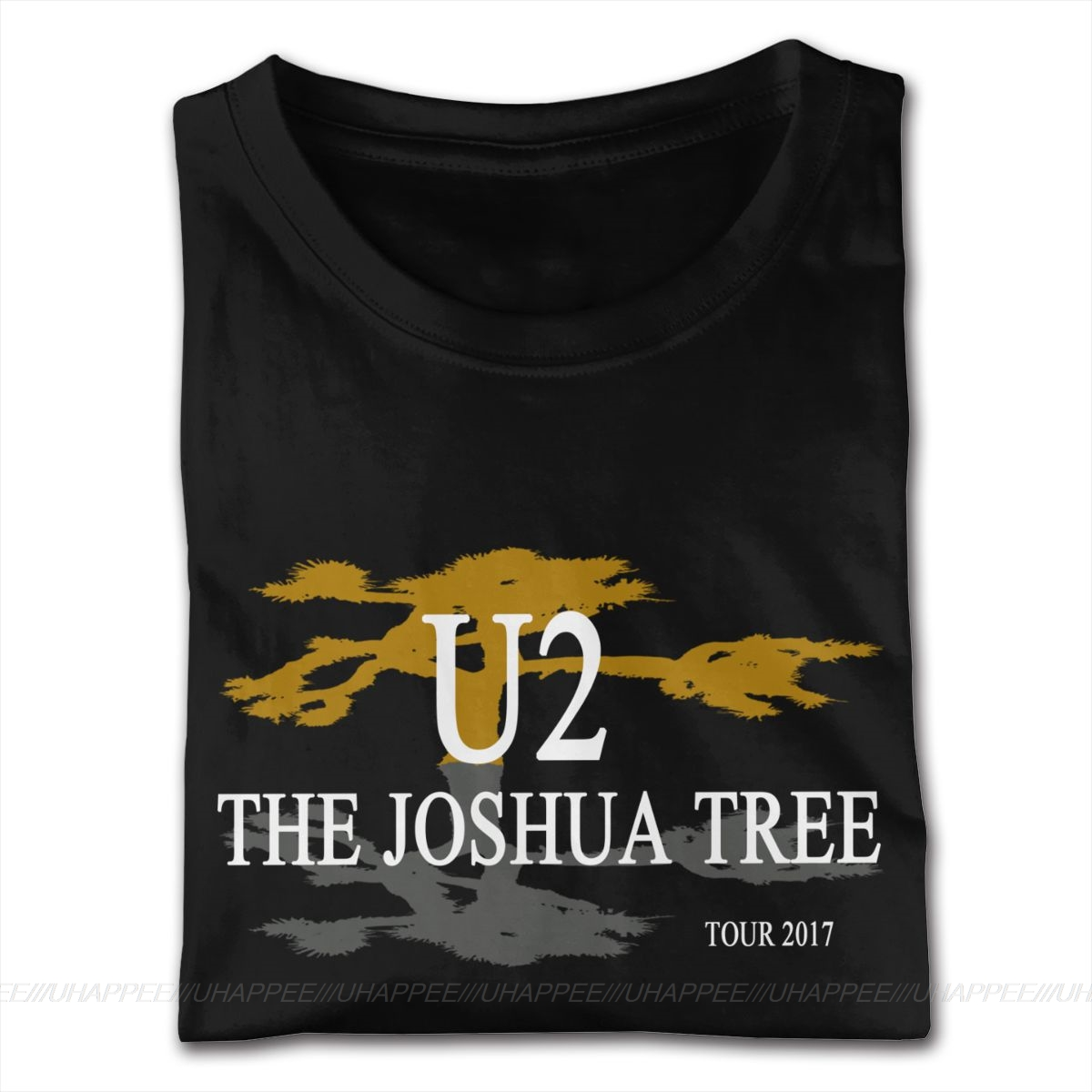 U2 The Joshua Tree 30th Anniversary 2017 World Concert Tour TShirts Young Boy 80S Hip Hop Man Short Sleeves Sale Branded Apparel
