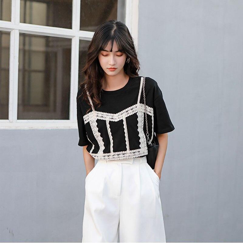 Ha864e20d16194b64876064ed56208937L - Summer Korean High Waist Loose White Shorts