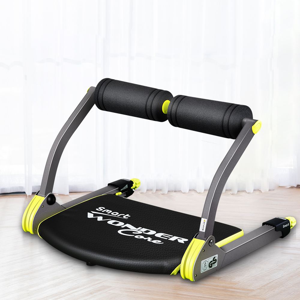 Rebound Supine Board Sit-ups Assistant Waist Abdominal Exercise Machine Core Trainer Fitness Equipment for Gym Home Workout