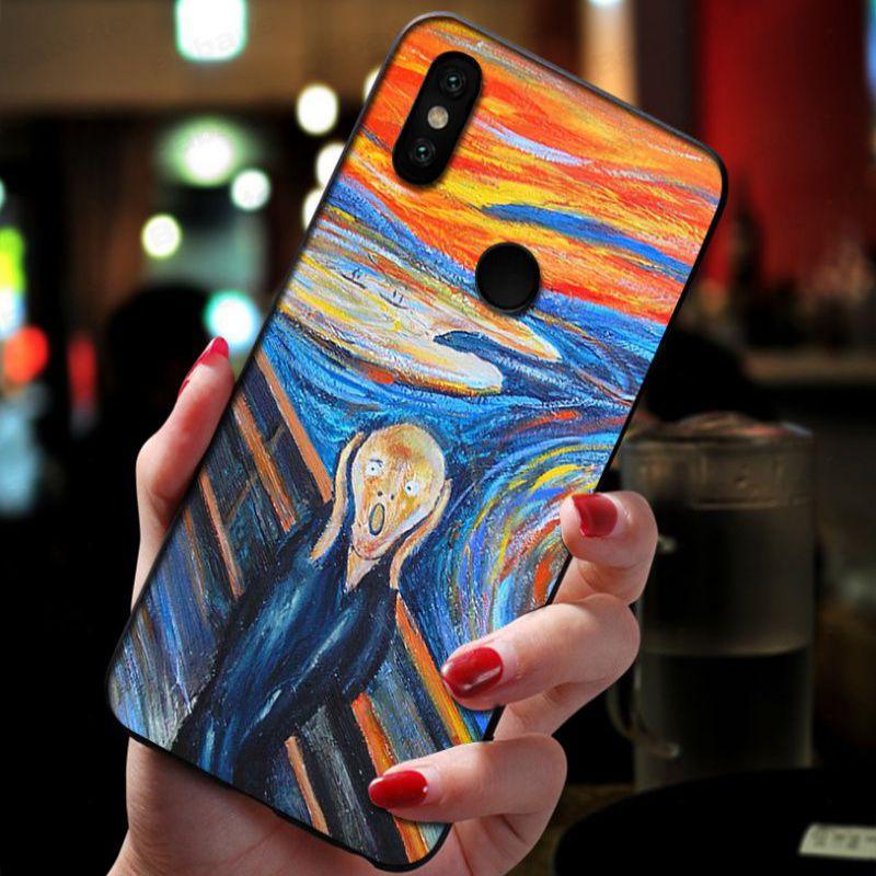 Scream by Munch cat