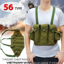 Pouch Chest-Rig-Pack Military-Equipment Light-Weight Tactical-Vest Airsoft-Paintball-Carrier