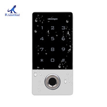 Hohe Qualität Access system fingerprint reader Wiegand26 Reader Fingerprint Access Control-Card System IP68 Wetter