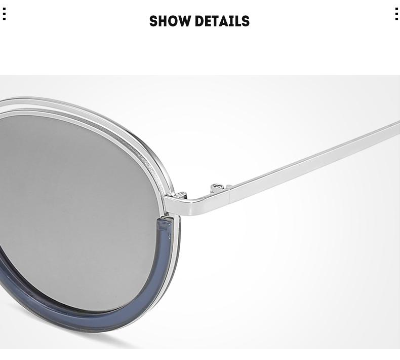 Sunglasses Women Vintage Round Sun Glasses Polarized Lens UV400 Anti Reflective Summer Polarized Women Snnglasses (30)