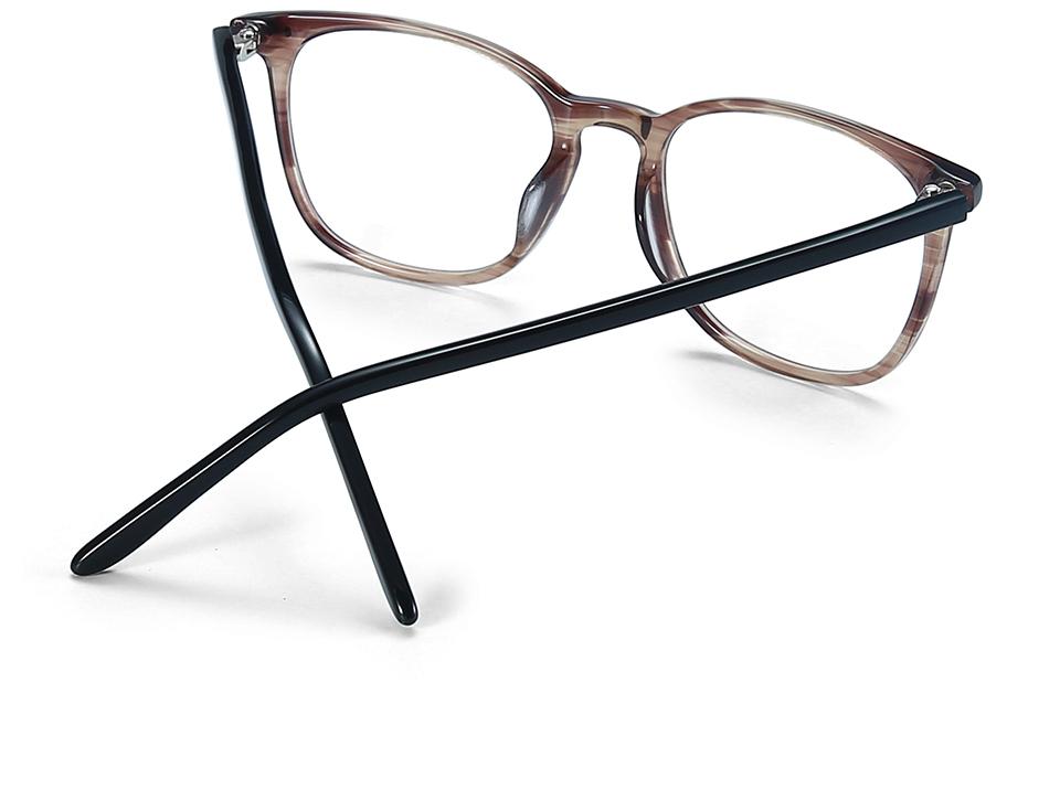 ZENOTTIC Transparent Glasses Frame Men Prescription Glasses Lenses Acetate Glasses Man Frames Optical Myopia Eyeglasses (4)