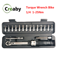 Wrench-Set Bicycle-Tool-Kits Spanner-Hand-Tools Bike-Repair Preset-Torque Professional