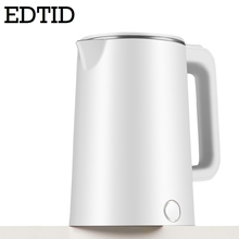 Electric-Kettle Tea-Boiler Stainless-Steel Hot-Water Teapot Heating Auto-Power-Off EDTID