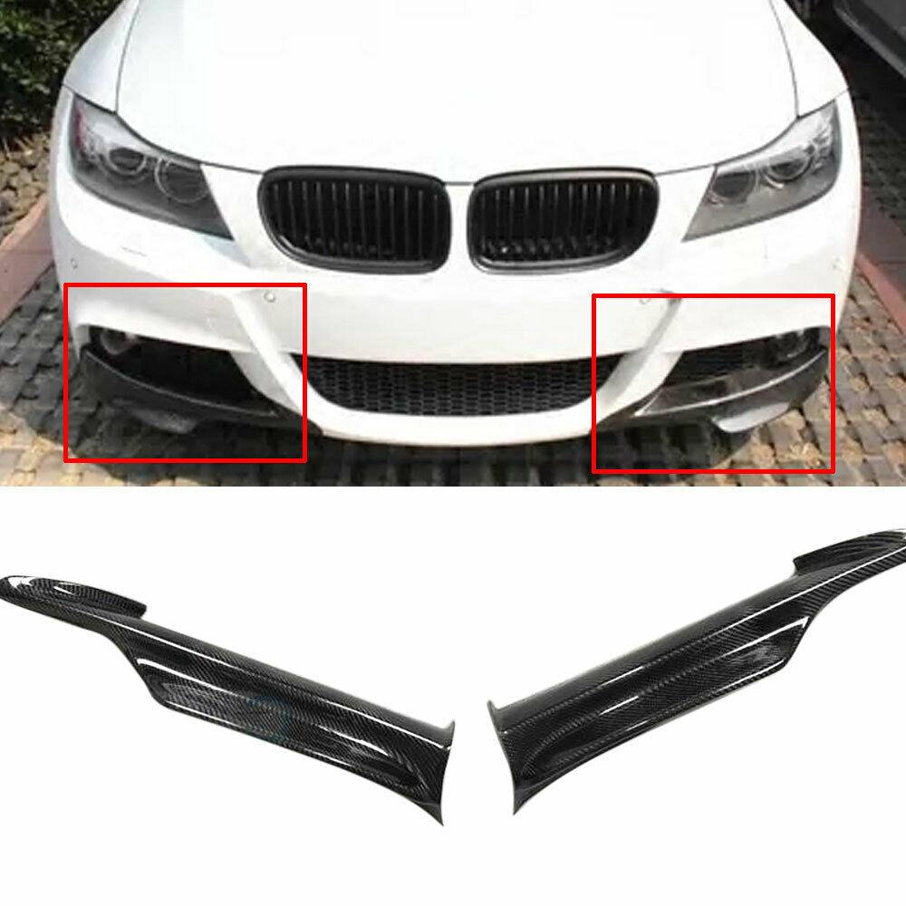 Carbon Fiber 09-11 BMW E90 E91 LCI 328i 335i Standard Front Bumper Splitter Lip
