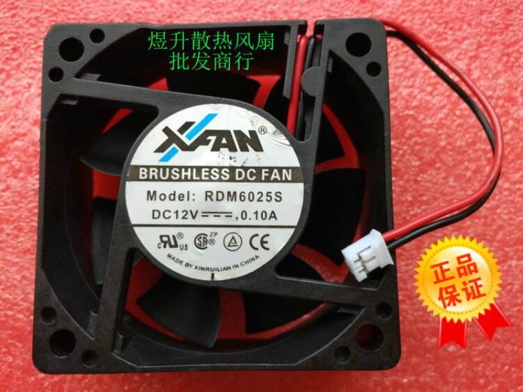1PC XFAN RDM8025B4 48V 0.18A 8cm 4-wire cooling fan