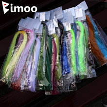 Flashabou Holographic Lure Tinsel Making-Material Fly-Fishing-Tying Bimoo Jig Hook