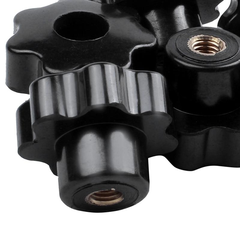 M5 X 35mm Rosca Macho moleteado perillas de agarre tornillo de sujeción en PC tipo 2