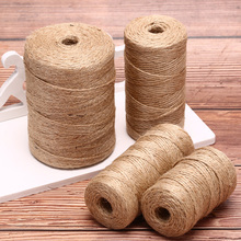 Rope Thread Burlap String Wrapping-Cords Craft-Decor Scrapbooking Natural-Twine Hemp