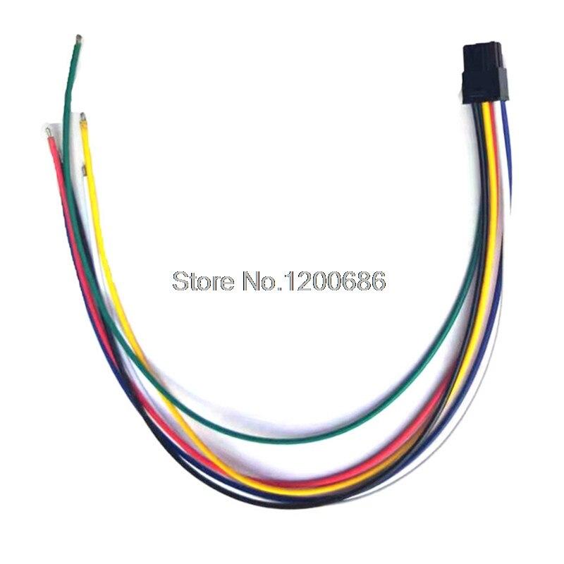 50Pcs Black Molex 4 pin END CAP for punch down connector