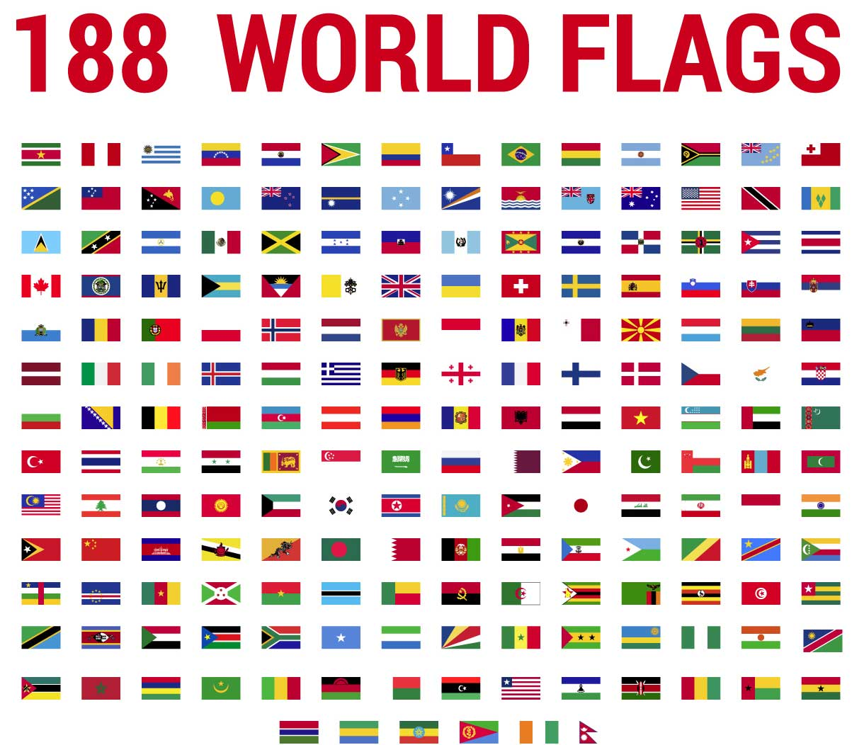 World-Flags Decals Bumper/window-Sticker for DIY Decor CT25019 title=