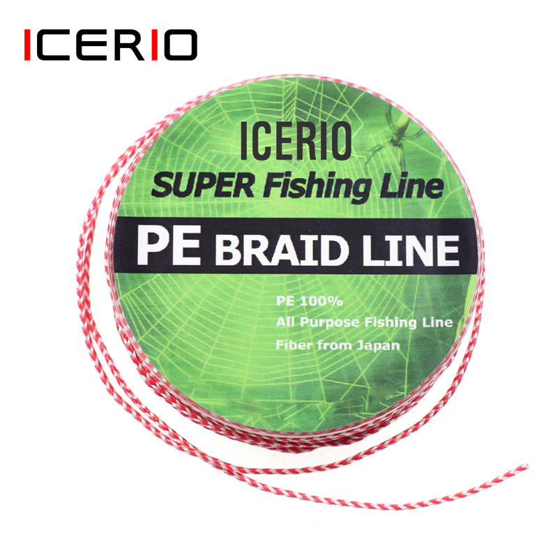ICERIO Hook Tied-Line Lure Assistent Fishing-Accessories Braided Saltwater PE Pesca title=
