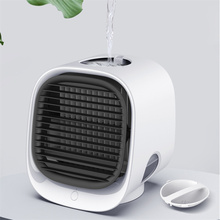 Mini Portable Air Conditioner Fan Multi-function Humidifier Purifier USB Desktop Air Cooler Fan with Water Tank Home 5V