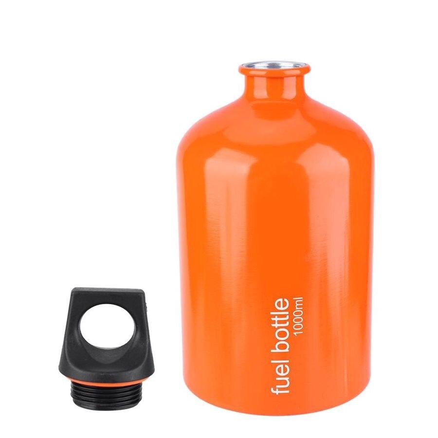 Lixada 500ml Botella de Combustible de Gasolina Gas de Queroseno Alcohol Tanque de Gas L/íquido Botella de Almacenamiento de Combustible para Acampar al Aire Libre Estufa de Combustible M/últiple