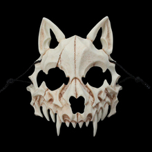 Mask Werewolf-Mask Stage Cosplay Animal Halloween Japanese Dragon Resin Skeleton Party