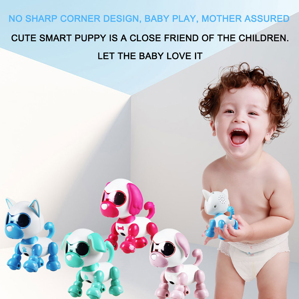 Person - Children's Electronic Pet Toys Electronic Smart Robot Dog Toys Music Dance Walking Interaction Toy For Kids Puppy Pet Toy