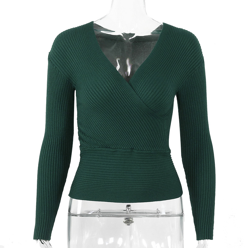 Sexy Winter Knitted Sweater V Neck Cashmere Sweater Female 19 Women Sweaters And Pullovers Autumn Long Sleeve Sweater Jumper 27