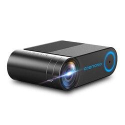 CRENOVA 2019 новейший HD 720P светодиодный проектор для 1080P беспроводной WiFi мультиэкранный видеопроектор 3D HDMI VGA AV Beamer