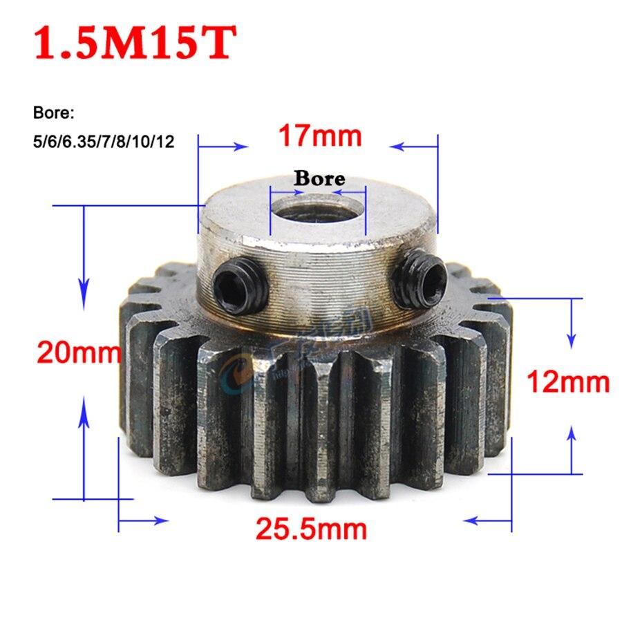 5M15T Synchronous Wheel Timing Belt Pulley Gear Sprockets For 15//20mm Width Belt